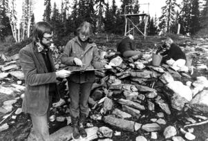 I år är han projektledare för Nationalmuseum Norr men 1977 var Sten Gauffin antikvarie på länsmuseet och arbetade med utgrävningarna i ödesbölet Svedäng i Alsen. Utgrävningarna gav kunskap om hur livet levdes i Jämtland för 500 år sedan.
