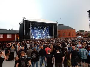 Det var närmare 2 500 personer i publiken. Foto: Janne Mattsson