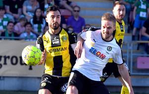 Johan Mårtensson är tillbaka efter avstängning. Bild: Conny Sillén/TT