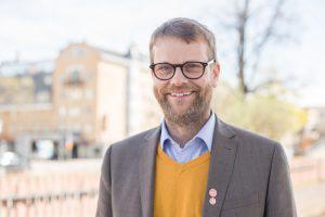 Kenneth Johannesson (S), EU-kandidat.