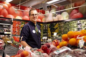 Christer Sterner, butikschef Coop Extra Sandviken.