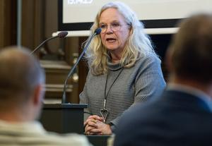 Maria Lind har fram tills nu varit gruppledare för Socialdemokraterna i fullmäktige i Söderhamn. Nu kommer hon istället att vikariera som oppositionsråd.