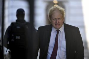 Förre utrikesministern Boris Johnson lovade
