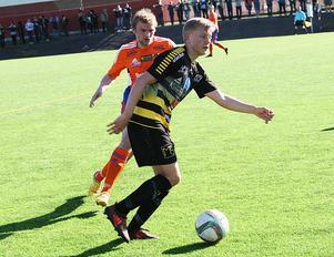 Dennis Collander blev stor matchhjälte för Skiljebo i matchen mot Sala FF.