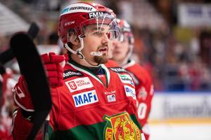 Kevin Gagné missade fem matcher på grund av sin skada. Foto: Daniel Eriksson/Bildbyrån
