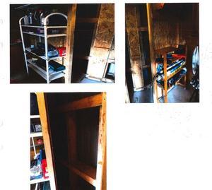 När Tullverket sökte igenom huvudmannens bostad kontrollerades även de hemliga gömmor där polisen vid tidigare tillslag hittat stora mängder alkohol. Denna gång var det tomt. Bild: Tullverkets förundersökning