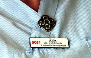 I dag uppmärksammas sjuksköterskornas viktiga roll. Det är sjuksköterskans yrkesdag i hela världen. Foto: Ingvar Karmhed