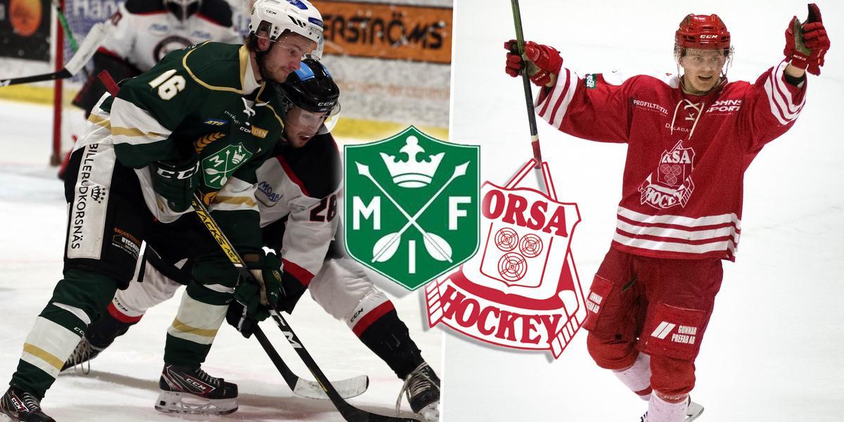 Glödhett daladerby redan i andrarundan – så spelar Malung och Orsa i Hockeyettans kvalserie
