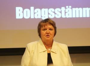 AnnSofie Andersson och Östersunds kommun vill byta ut Inlandsbanans styrelseordförande.
