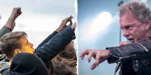 Candlemass spelade under Sabaton Open Air, lördagen 19 augusti. Bilden är ett montage.