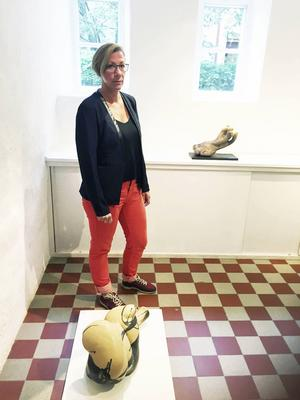 Katarina Sundkvist Zohari ställer ut på Drejeriet till den 24 september.