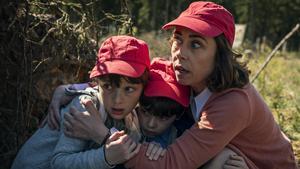 """Jakten på barnfamiljen är en av de mest stötande scenerna i """"The House that Jack built"""". Foto: Nordisk film"""