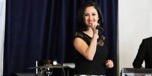 Sångerskan Orshina Al Chammas.
