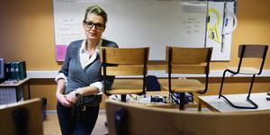 Lina Axelsson Kihlblom, chef för barn- och ungdomsförvaltningen i Nynäshamn. Fotograf: Mattias Holgersson/lt-arkiv