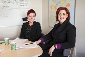Erika Söderström och Linda Östblom har granskat skolutredningen tillsammans med Stina Jonsson.