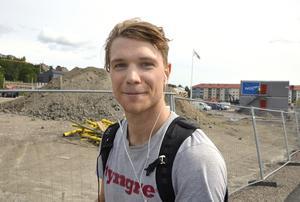 Erik Ledström, 28, lärare, Sundsvall: