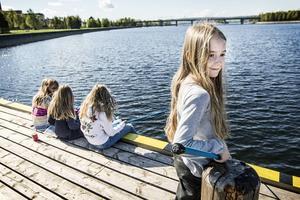 Isabelle Hålén är en van fiskare men då främst med fluga.