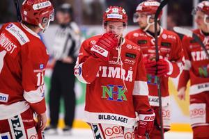 Rickard Palmberg gjorde sitt femte mål för säsongen när han avgjorde mot Brynäs. Bild: Pär Olert/Bildbyrån.
