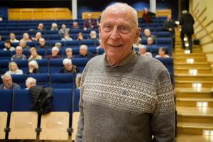 Bengt Sundström är ansvarig från HSB för att samordna kvällen i Söderhamn.