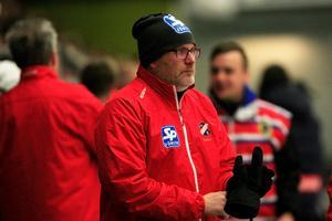 Tränare Thomas Liw hade en del att fundera på efter semifinal 2.