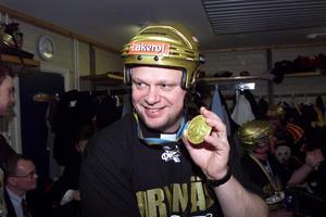 För 20 år sedan vann Roger Melin SM-guld med Brynäs IF. Foto: Lasse Wigert