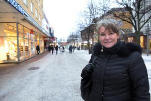 """Susanne Sakofall kan komma att uppmuntras med utmärkelsen """"Årets centrumutvecklare""""."""