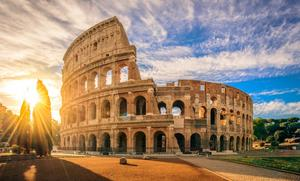 Temat är - Rom - den eviga staden.