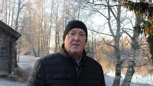 Mats Moberg, 64 år, pensionär, Bergeforsen.