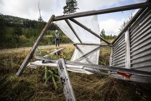 Stig Almström berättade att han skull e ta hjälp av sin son att återställa passen.