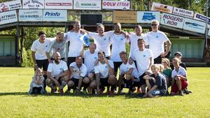 Vinnarna; Lucksta Energy slog Sundsvallsbyggarna med 2–1 i finalen. Bild: Tim Davies
