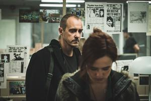 """Livet på redaktionen skildras i """"Quick"""". Foto: Nordisk film"""