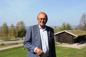 Kenneth Johansson, ordförande  Förbundet Svensk Fäbodkultur och utmarksbruk. Foto: Hällpers Maria Bergström