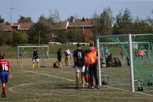 I pojkar 05-slutspelet möttes Hallsta IK och BKV Norrtälje.
