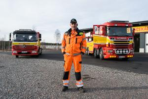 Magnus Erikhans, driftschef Assistancekåren, berättar att bärgningsyrket inte bara består av olyckor.
