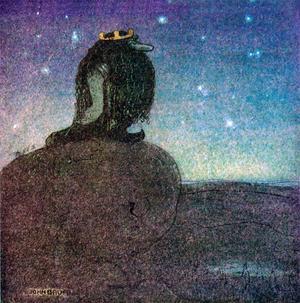 Bergakungen, verk av John Bauer.