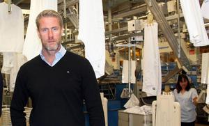 Fredrik Lagerkvist, vd Textilia