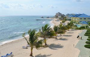 Brittiska Caymanöarna, ett exempel på ett skatteparadis där vi säkert kan hitta en och annan svensk skattekrona. Foto: Kyodo