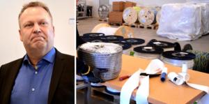 Borlängeföretaget Elkanalen och vd Lars Björk anmäler en konkurrent till Konkurrensverket.