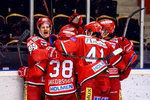 Modospelarna har nätat i 82 raka matcher i Hockeyallsvenskan.Foto: BILDBYRÅN