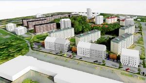 Omtag om byggplaner på HammarbyIllustration: Ettelva/Archus