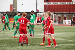 Det blir fler unga spelare i Härnösands division 2-lag kommande säsong. Foto: Härnösands FF