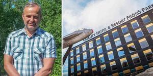 Jacob Dahlberg lämnar Scandic och blir ny vd och general manager för Frösö Park.