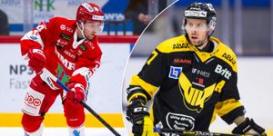 Albin Carlsson får spela med Jakob Ragnarsson. I bortalaget är Morgan Hassel fortsatt utanför laget.