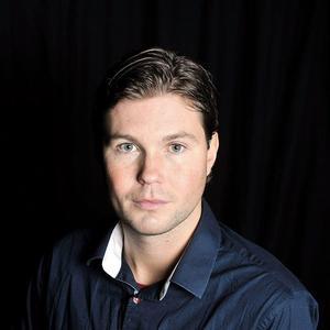 Oskar Magnusson, lokal fotbollsredaktör för Mittmedia Sport Dalarna.