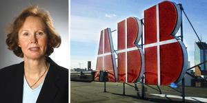 Christine Gunnarsson, presschef på ABB Sverige.