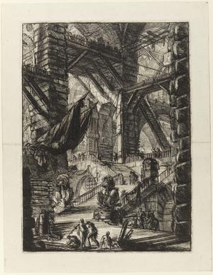 Åttonde gravyren i Giovanni Battista Piranesis serie
