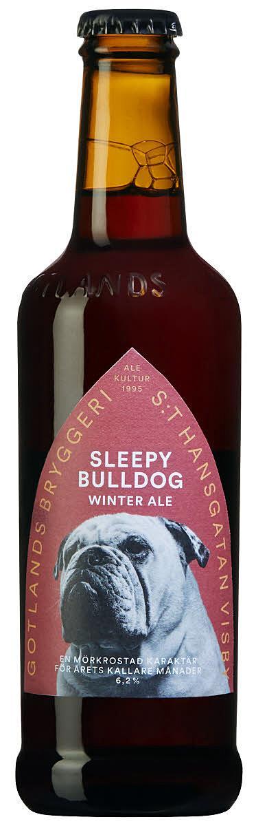 Sleepy Bulldog Winter Ale.