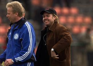 Anders Grönhagen och Tomas Brolin.