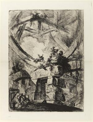 Nionde gravyren i Giovanni Battista Piranesis serie