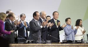 FN:s klimatkonferens  i Paris 2015. Foto: Berit Roald / NTB scanpix.